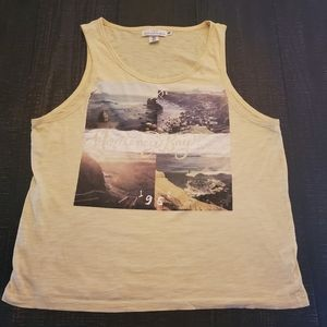 H&M yellow tank top